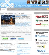 Global Voices Citizen Media Summit 2008
