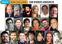 Ganadores del Knight News Challenge 2008