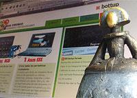 Bottup y la estatuilla del premio