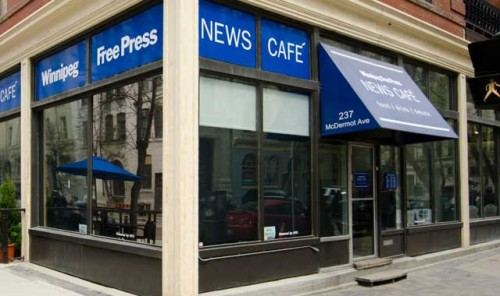 Winnipeg Free Press News Café