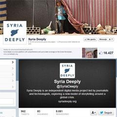 Syria Deeply en las redes sociales