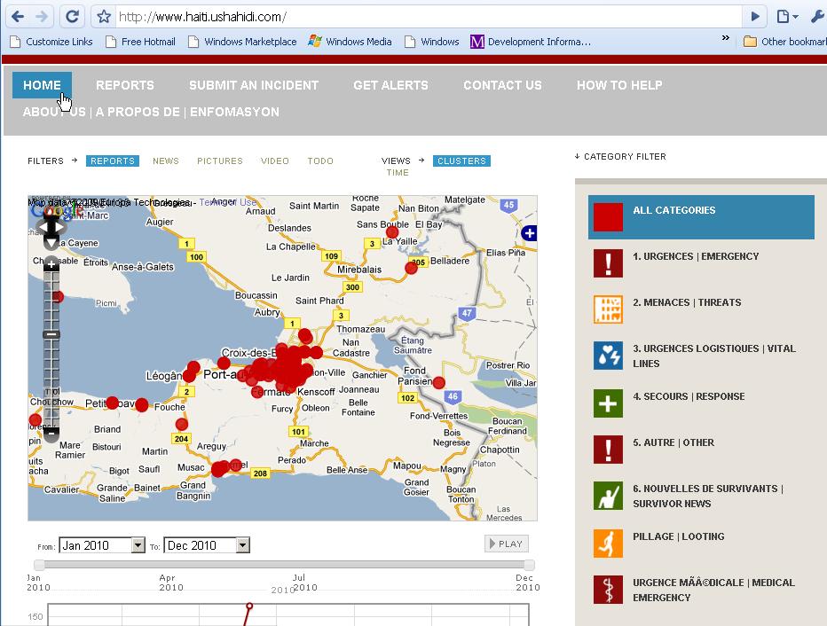 Ushahidi Haití