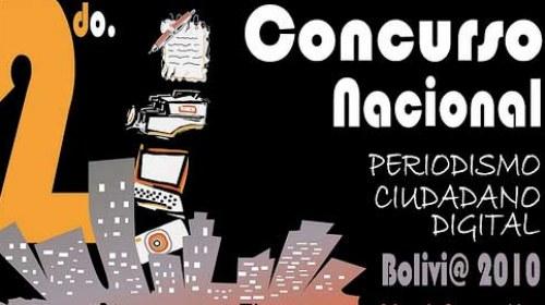 Ahora Bolivia: 2ºConcurso Nacional de Periodismo Ciudadano
