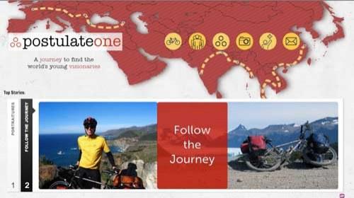 Postulate One: 10.000 millas en bicicleta para descubrir jóvenes talentos en Asia