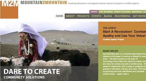 Mountain2Mountain: empoderando a las mujeres en Afganistán