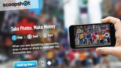 Scoopshot, una aplicación para comercializar el fotoperiodismo ciudadano