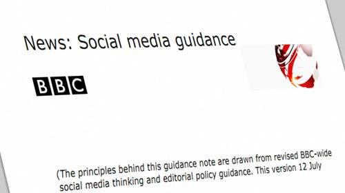 BBC actualiza una guía de uso de los medios sociales para sus periodistas