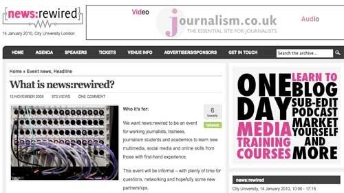 """""""News:rewired"""": Un encuentro para debatir sobre el panorama actual de los medios de comunicación"""