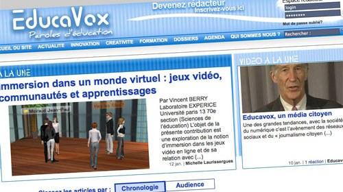 Educavox, un medio colaborativo para abordar las problemáticas de la educación