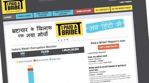 I Paid a Bribe (pagué un soborno): un blog anticorrupción desde la India
