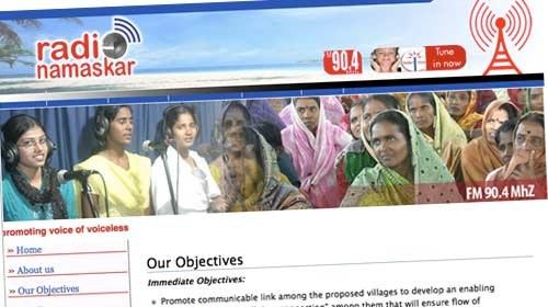 Radio Namaskar: luchando contra el abandono escolar en India a través del móvil
