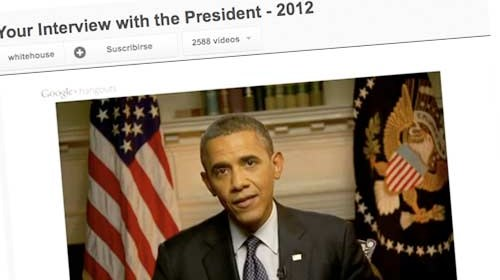 Obama y las redes sociales en el inicio de su campaña electoral