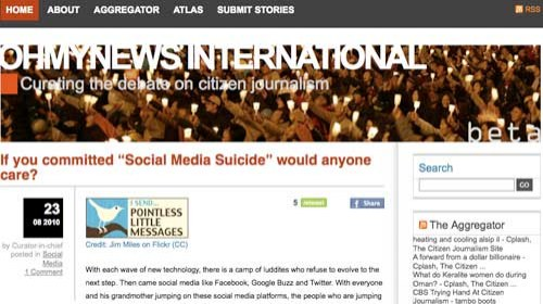 """OhmyNews Internacional cierra """"víctima de su propio éxito"""""""