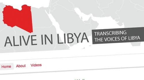 Alive in Libya, información ciudadana desde el conflicto libio