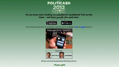 MapLight y Politicash: vigilancia ciudadana contra la corrupción electoral