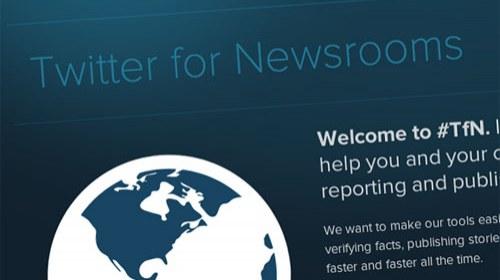 Twitter for Newsrooms #TfN, una guía de uso para periodistas