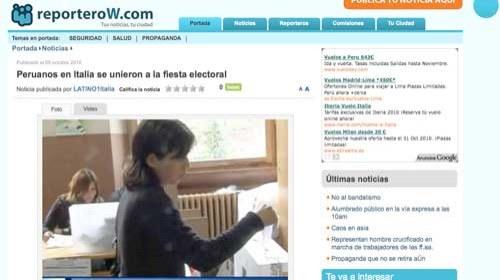 Periodismo ciudadano en las elecciones de Perú