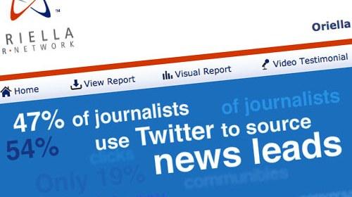 Los periodistas utilizan cada vez más los medios sociales como fuente de noticias, según estudio