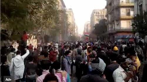 """Redes Sociales dan testimonio de la marcha del """"millón de hombres"""" en #Egipto #Nov22"""