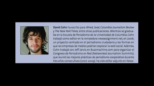 David Cohn y Spot.us: «periodismo financiado por la comunidad»