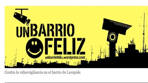 """Participación ciudadana contra la videovigilancia en """"Un Barrio Feliz"""" de Madrid"""