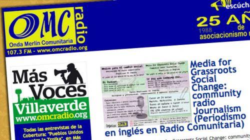 OMC Radio, radio comunitaria de Villaverde: Entrevista a José Ramón Planelles