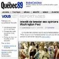 Nace Québec89, la nueva apuesta de Rue89 en Canadá