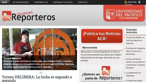 """""""Jóvenes Reporteros"""": Periodismo ciudadano desde las escuelas de Chile"""