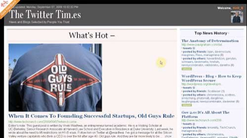 The Twitter Times: Tu periódico personalizado en tiempo real