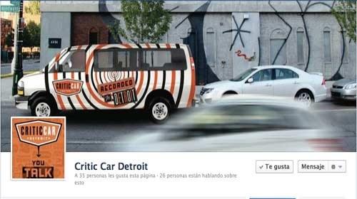 CriticCar Detroit: periodismo ciudadano aplicado a las artes