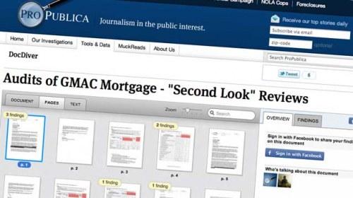 ProPublica presenta DocDiver: buceando entre la información