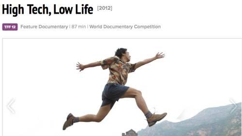 """Dos periodistas ciudadanos chinos protagonistas del documental """"High Tech, Low Life"""""""