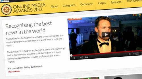Periodismo ciudadano en los Online Media Awards