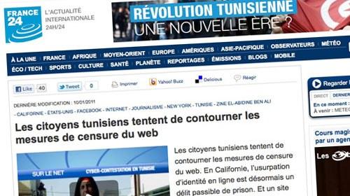 La revolución tunecina da un nuevo impulso al periodismo ciudadano