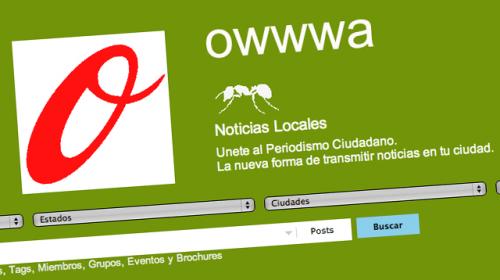 Owwwa, un acercamiento diferente al periodismo ciudadano
