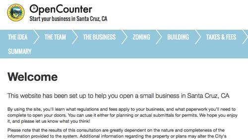 OpenCounter: Simplificando la burocracia en favor de los empresarios