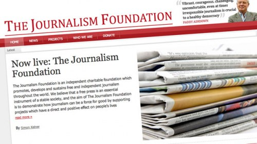 The Journalism Foundation, promoviendo el periodismo del futuro