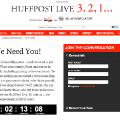 El Huffington Post inicia la cuenta atrás para el lanzamiento de HuffPost Live