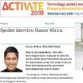 Gaurav Mishra: Potenciar la información y la participación ciudadana, claves del activismo digital