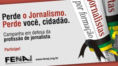 El Senado brasileño aprueba en primera ronda el restablecimiento del carnet de periodista