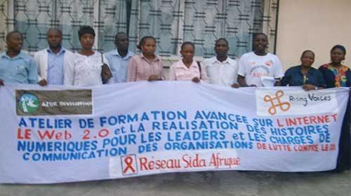AIDS Rights Congo: Un proyecto para luchar contra la discriminación por SIDA en el Congo