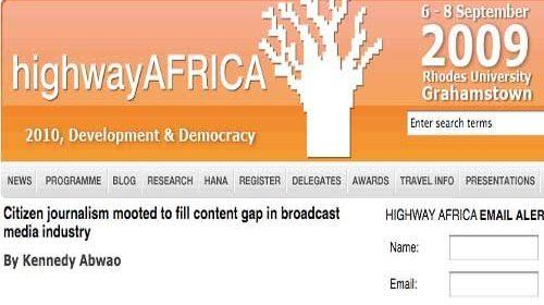 África apuesta con fuerza por el periodismo ciudadano hiperlocal
