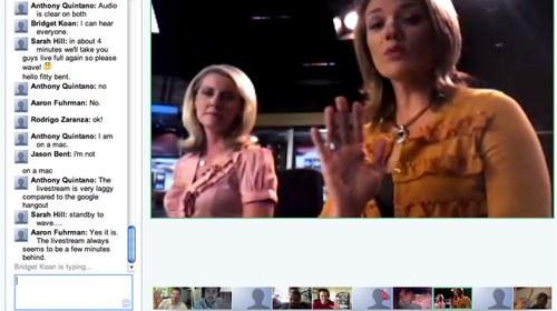 Sarah Hill en KOMU-TV: un uso periodístico de las Quedadas de Google+