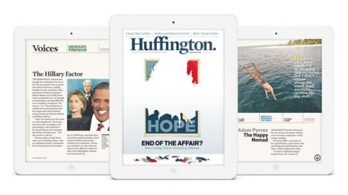 Huffington Post lanza un magazine semanal para iPad