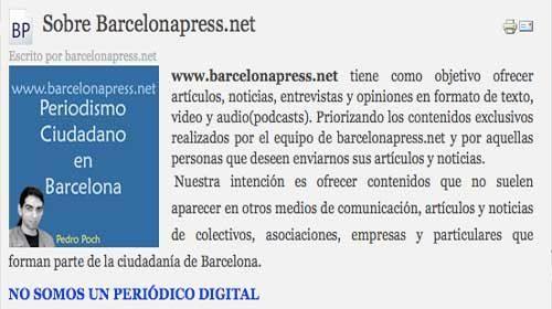 Barcelonapress.net: Periodismo ciudadano desde Barcelona