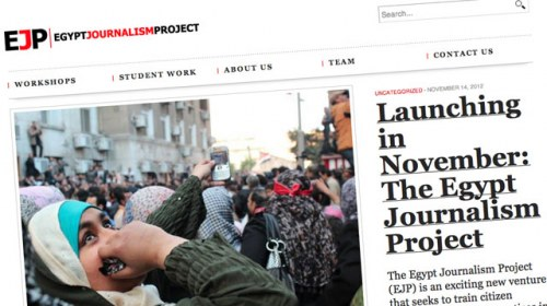 Egypt Journalism Project: formando periodistas ciudadanos en Egipto