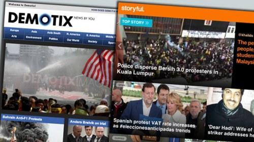 Demotix y Storyful anuncian un nuevo canal de noticias ciudadanas