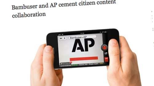 Bambuser y Associated Press: ejemplo de colaboración entre periodismo ciudadano y profesional