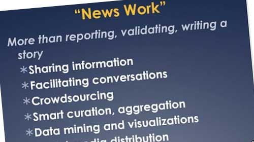 """Jan Schaffer: """"Las organizaciones de periodismo no pueden seguir informando solas desde sus torres de marfil"""""""