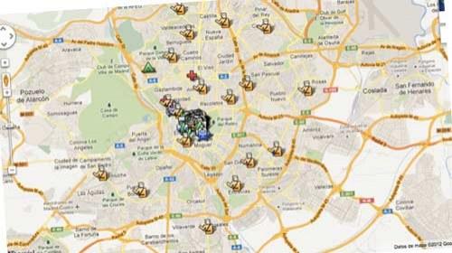 Mapas y redes sociales para informarse e informar sobre el #25s  #voces25S